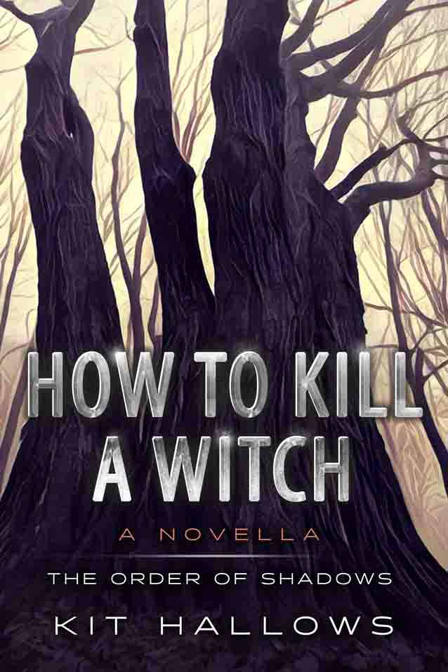 The cover for How To Kill A Witch by Kit Hallows