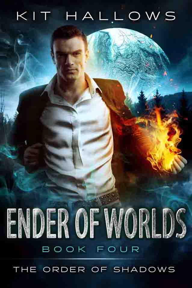 The Cover for Ender of Worlds by Kit Hallows