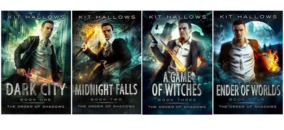 Four books in The Order of Shadows series