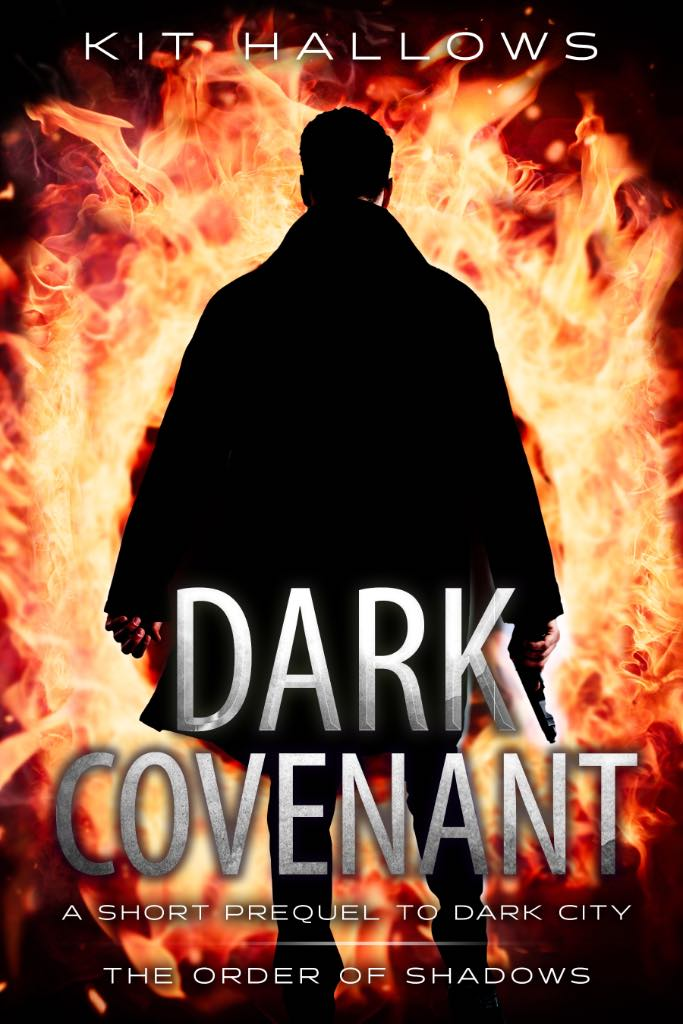 The cover for Dark Covenant by Kit Hallows